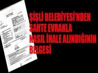 Şişli Belediyesi'nde sahte evrakla ihalenin belgesi