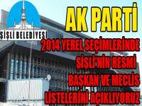 Ak Parti'nin Şişli Belediye Meclisi resmi listesi