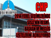 CHP Şişli Belediyesi resmi meclis listesi