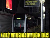 Kadıköy metrosunda dev vurgun iddiası!