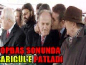 Kadir Topbaş Mustafa Sarıgüle haddini bil dedi