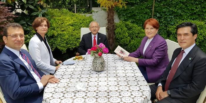 Kılıçdaroğlu'ndan Akşener'in İstanbul'daki evinde bayram ziyareti